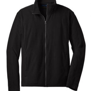 Port Authority® Microfleece Jacket with Cardiology Associates Logo-0