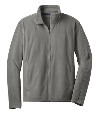 Port Authority® Microfleece Jacket with Cardiology Associates Logo-4821