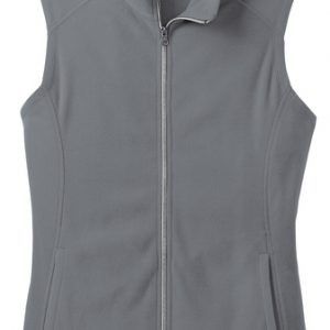 Port Authority® Ladies Microfleece Vest with Cardiology Associates Logo-0