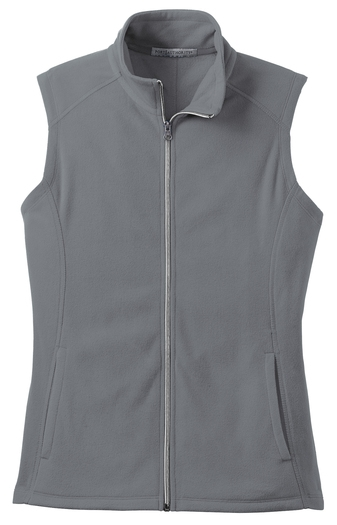 Port Authority® Ladies Microfleece Vest with Cardiology Associates Logo-0