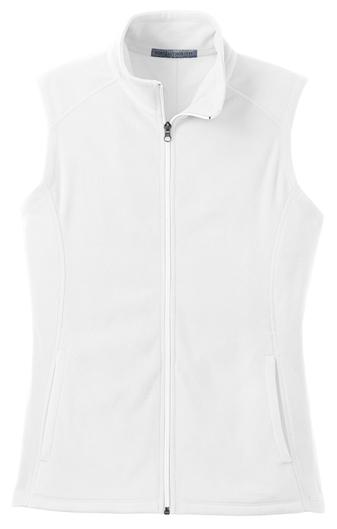 Port Authority® Ladies Microfleece Vest with Cardiology Associates Logo-4813