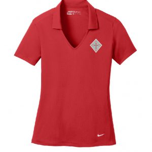 Ladies Nike Polo with Cornerstone Classical Christian Academy Logo-0